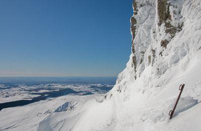 Lundi 18 janvier 2010 : Ski hors-piste au Sancy