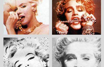 Marilyn Monroe, une vie d'inspiration pour Madonna