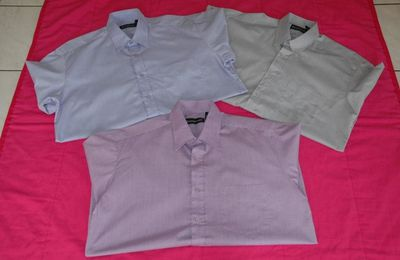 Lot de 3 chemises - Desfigue Olivier - Taille M