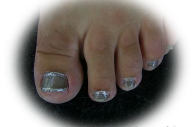 Déco ongles pieds
