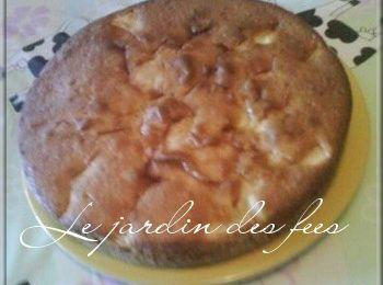 Gâteau moelleux pommes/bananes