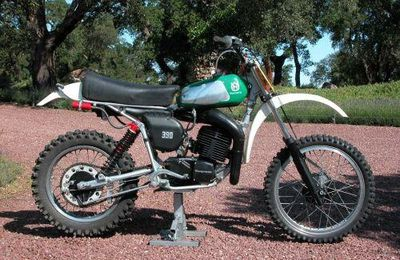 HUSQVARNA 390 CROSS AUTOMATIQUE 1978