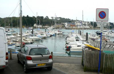 Audierne, le port de plaisance