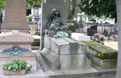 Tombeau de Gustave Guillaumet, cimetière de Montmartre