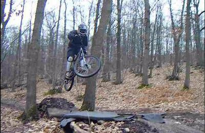 sessions de VTT freeride