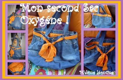 PARLONS CHIFFONS.(sous-titre) MON SECOND SAC RECUP MADE IN OXYGENE !