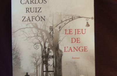 Carlos Ruiz Zafon, Le jeu de l'ange, Robert Laffont, Paris, 2009.