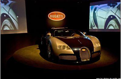 Le musée Schlumpf à Mulhouse (Bugatti Veyron)