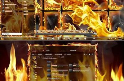 Tema Flame Windows 7