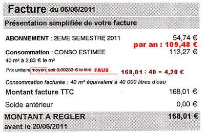 Sur igepac - Un EXEMPLE récurrent pour cette rentrée de septembre 2011 : l'arnaque des parts fixes ?