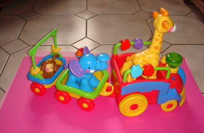 train musical des animaux de fisher price ...