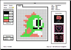 RetroFiche n° 0006 - Bob (Bubble Bobble)