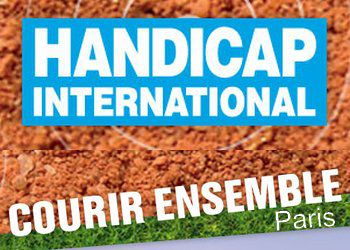 Courir ensemble avec handicap international 2014
