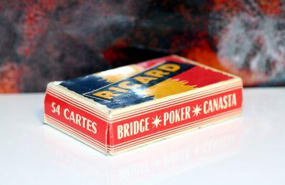 RICARD : ancien jeu de 54 cartes La Ducale