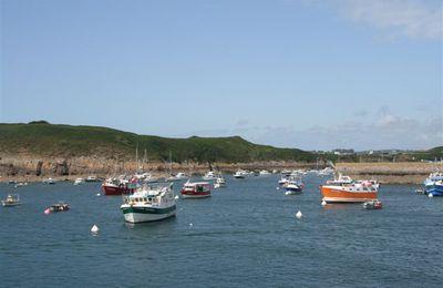 Randonnée en Bretagne sur l'île d'Ouessant