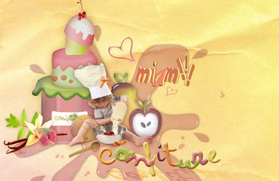 Page de Scrapbooking digital