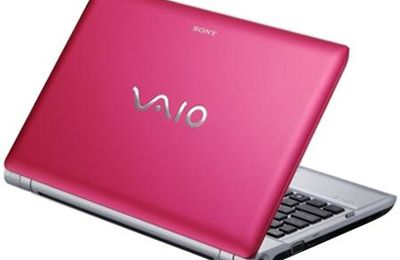 Sony Vaio Pink Laptop?