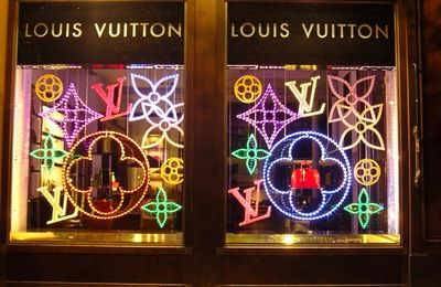 Vitrines de la boutique LOUIS VUITTON, Saint Germain
