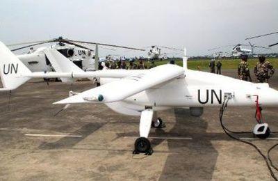 LE PREMIER DRONE DE L'HISTOIRE DE L'ONU