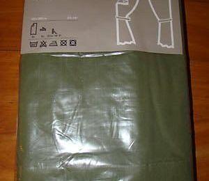 PAIRE DE RIDEAUX NEUF DANS EMBALLAGE 145X300 CM IKEA