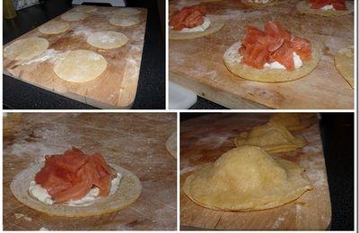 Raviolis complètement saumon…