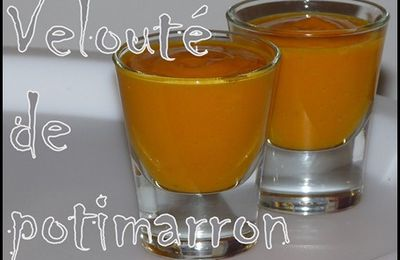 Velouté de potimarron (ultra-simple)