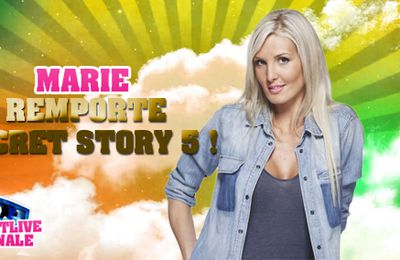 Marie remporte Secret Story 5 !
