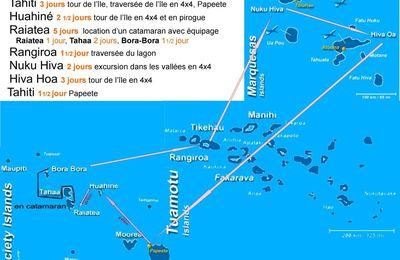 Polynésie française ( récit d'un voyage )