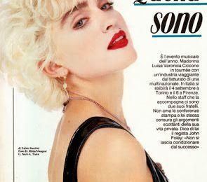 Madonna - Italy - TV - Septembre 1987