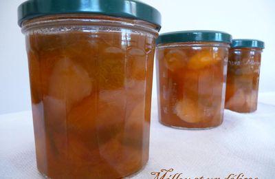 Confiture aux 4 fruits (pêche, brugon, abricot, reines-claudes)