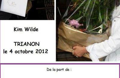 """Kim Wilde à Paris"" Dernier partage !"