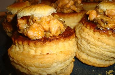 VOL-AU-VENT DE SAUMON