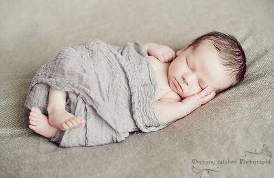 William, séance photo naissance dans les Yvelines ♥