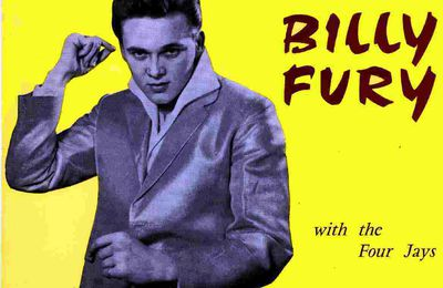 French Decca EP Billy Fury