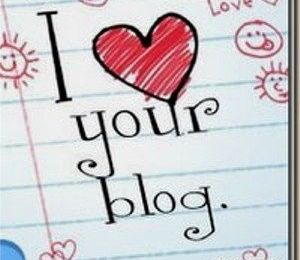 "Prix ""I love your Blog"""