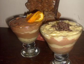 mousse orange chocolat