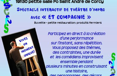 THEATRE D'IMPRO ET ONE MAN SHOW
