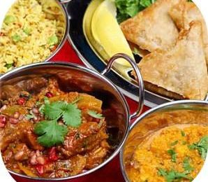 Menu Indien Végétarien