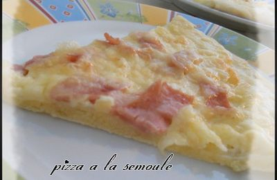 pizza semoule