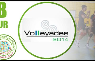 Titouan LEGALL champion de France aux Volleyades 2014 avec la sélection Ile de France
