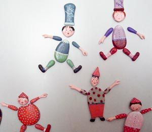 magnets personnages