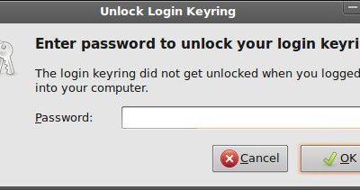 Fixing ubuntu(10.04) Password Keyring