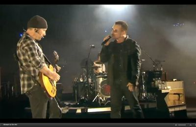 Concert : Live de U2 from the Rose Bowl du 25th octobre 2009