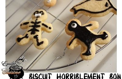 Halloween : Biscuit horriblement bon ...