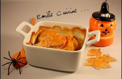Halloween : Gratin de Patate Douce ...