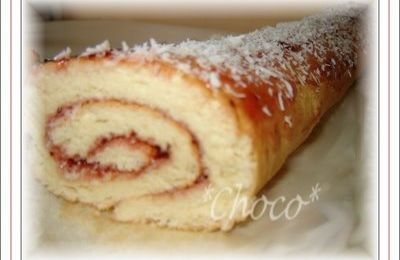 BISCUIT ROULE FRAISE-COCO