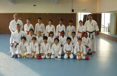Entrainement sous la direction de sensei Haruyoshi Shimabukuro - 18 mai 2010