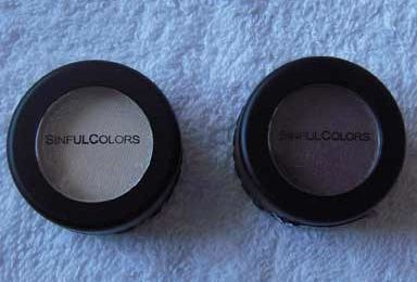 SINFUL COLORS - Single eyeshadows
