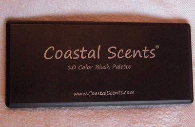 Coastal Scents - 10 Color Blush Palette