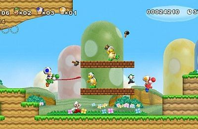 MàJ : Que pense la critique de New Super Mario Bros Wii ?